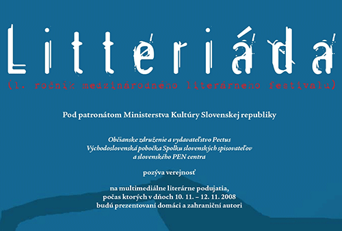Litteriada (1st edition of this annual international literary festival)